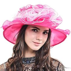 1382dfaf Kentucky Derby Church Dress Wedding Floral Tea Party Hat S021-A Review