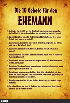 The Ten Commandments for the Husband . - The Ten Commandments for the Husband … - Wedding Shower Cards, Funny Wedding Cards, Wedding Humor, Wedding Day, Glee Quotes, Disney Quotes, Crush Quotes, Wedding Toast Quotes, Wedding Toasts