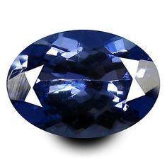 Tanzanite 4195: 1.03 Ct Aa+ Outstanding Oval Shape (8 X 5 Mm) Bluish Violet Tanzanite Gemstone -> BUY IT NOW ONLY: $34.99 on eBay!