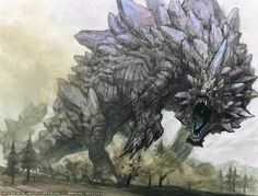 Quartz Dragon By G.River   /  http://www.pixiv.net/member_illust.php?mode=medium&illust_id=14334803