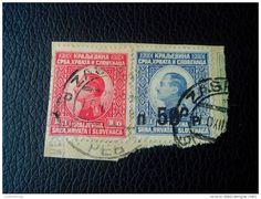 RRRR 1/3 D-OVERPRINT 50D YUGOSLAVIA-KRALJEVINA SRBA-HRVATA-SLOVENACA STAMPS RECOMMENDET LETTRE ON PAPER COVER - 1919-1929 Kingdom Of Serbs, Croats And Slovenes