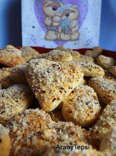 AranyTepsi: Preckedli Salty Snacks, Holiday Cookies, French Toast, Deserts, Muffin, Food And Drink, Sweets, Cooking, Breakfast