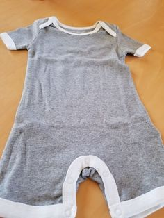 INFANT BOYS 1PC REFEREE OR FOOTBALL CREEPER  SIZES 0-3 MONTHS 6-9 MONTHS  NWT