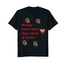 Dog Animal Rescue Canine Public Safety Alert T-Shirt sydd...