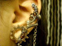 Amber Alchemist Ear Cuff