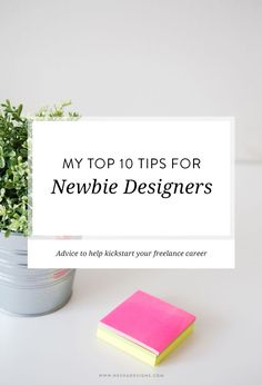"@neshadesigns shares her ever-wise ""Top 10 Tips for Newbie Designers"": http://neshadesigns.com/blog/my-top-10-tips-for-newbie-designers"