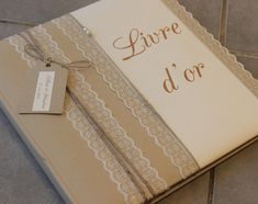 Livre d'or gamme |mariage champêtre chic|