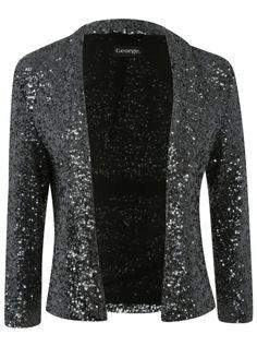 Sequin jacket, Christmas sparkle