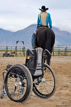 Meet Barrel Racing Champ Amberley Snyder after a car accident left her paralyzed, she is blazing new trails as a barrel racer and motivational speaker.