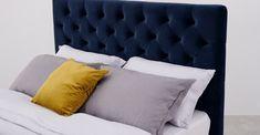 Skye Kingsize Bed with Storage Drawers, Owl Grey Bed Storage, Storage Drawers, Bed Pillows, Cushions, Blue Velvet, King Size, Home Furnishings, Your Design, Royal Blue