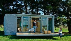 5 Cool Shipping Container Buildings | Spot Cool Stuff: Design