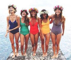 Spring break is just around the corner which means Bachelorette Party season is . - Spring break is just around the corner which means Bachelorette Party season is about to begin! Bikinis, Swimsuits, Swimwear, Youre My Person, Best Friend Goals, The Bikini, Mode Vintage, Summer Of Love, Look Fashion