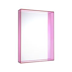 Discover the Kartell Only Me Mirror - 50x70cm - Fuchsia at Amara