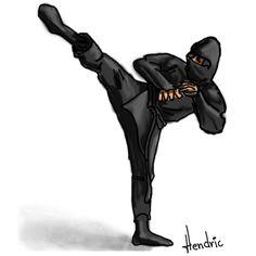 When I grow up I will be a ninja
