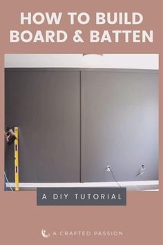 Make a feature wall in your bedroom with this simple DIY board and batten tutorial. Feature Wall Bedroom, Accent Wall Bedroom, Bedroom Wall Paints, Kitchen Accent Walls, Dining Room Feature Wall, Feature Wall Design, Master Bedroom, Easy Diy Room Decor, Room Wall Decor