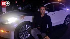 *** BILDplus Inhalt *** Tesla Model 3 - BILD fuhr das begehrteste Auto der Welt