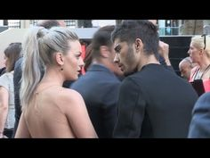 Zayn and Perrie: Red Carpet - One Direction Movie Premiere - This Is Us