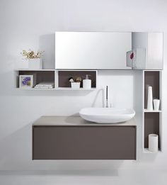 The ideas of cabinets for small bathroom sink