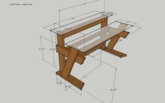 Studio Desk Dimensions - Desk Frame Angled View.jpg; 1024 x 643 (@100%)