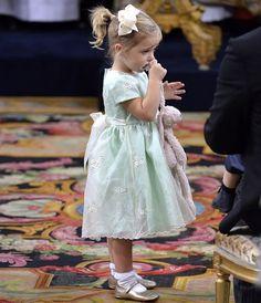 Princess Leonore of Sweden                  The baptised of Prince Alexander of Sweden