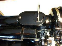 Perfect Stitch: Singer Featherweight Spool Pin fix