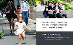 michelle williams & heath ledger