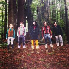 Family Force 5 in the Redwoods ---> Crank it like a Chainsaw!
