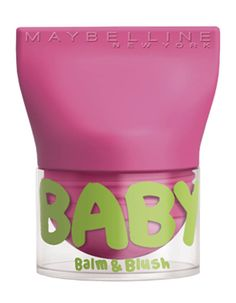 Baby Lips Balm & Blush, Maybelline New York, 4,90€                                                                                                                                                                                 Plus