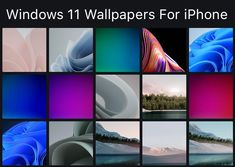 Download Windows 11 Wallpapers For iPhone and Android Screen Wallpaper, Iphone Wallpaper, Iphone 8 Plus, Iphone 11, Android Smartphone, Microsoft Windows, Homescreen, Wallpapers, Computer Wallpaper