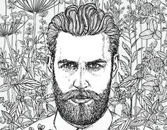 "Check out new work on my @Behance portfolio: ""Bearded drawings"" http://be.net/gallery/37071359/Bearded-drawings"