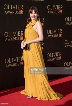 Ophelia Lovibond attends The Olivier Awards 2017 at Royal Albert Hall on April 9, 2017 in London, England.