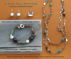 Sundance jewelery selection...divine!