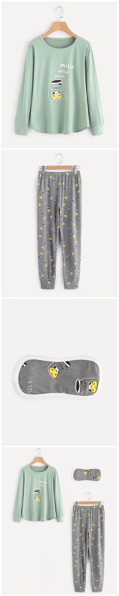 90 mejores imágenes de Conjunto de pijama  901a6d6fd49