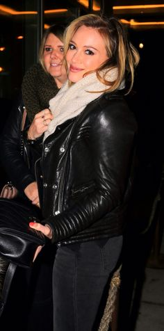 Hilary Duff arriving at Rockwood NYC Club in New York City (February 4th, 2014)