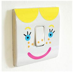 Mood Switch Stickers The Super Cool Light Switch Covers From molly-meg — Child Mode