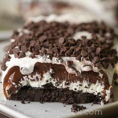 Chocolate Lasagna (How To Make Butter By Shaking)