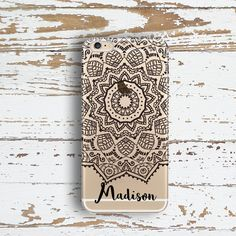 Custom Iphone 6 case clear Dream catcher Iphone 6 by ToGildTheLily
