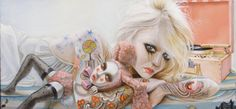 Mesmerizing Pop Surrealism by Leslie Ditto - beautiful.bizarre magazine