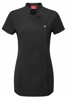 Beauty Therapist Salon Cross Over Uniform Nail Tunic