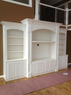 Family Room small entertainment center Design Ideas, Pictures, Remodel and Decor