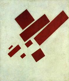 Kasimir Malevich, Suprematism with Eight Rectangles, 1915