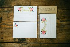 Recipe Cards - Perfect for a bridal shower or housewarming gift! | The Magnolia Market