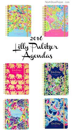 North Shore Proper: Lilly Pulitzer Agendas