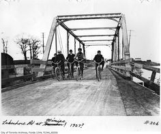 Vintage Toronto Cycling Photos