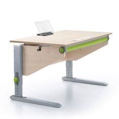 Ergonomischer bürotisch  Champion desk by Moll with Multi Deck depth extension. Perfect ...