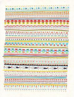Designspiration — Pattern No.2 Art Print by Sandra Dieckmann Illustration | Society6