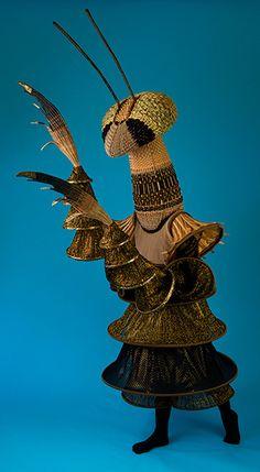 Annie Hickman's W0VEN Costume collection - .Beige Mantis