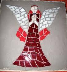 Resultado de imagem para Angelitos para trabajar en mosaiquismo