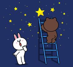 Brown & Cony's Big Love Stickers