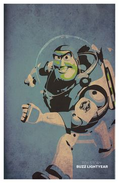 "Buzz Lightyear - Toy Story Poster 11""x17"""